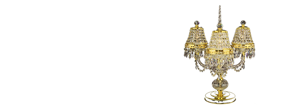 Table lamps | Quality Czech Crystal chandeliers and lamps | Bydžov.cz