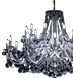Crystal LED chandeliers
