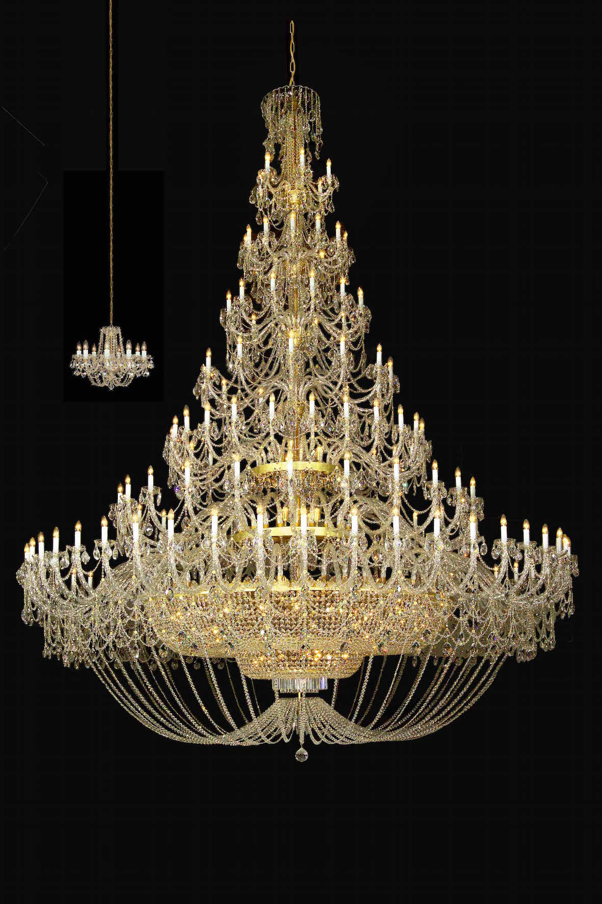 The big chandelier news quality czech crystal chandeliers and velk lustr 1 aloadofball Image collections