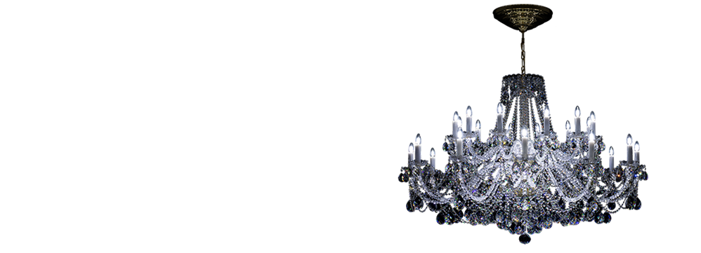 Crystal LED chandeliers | Quality Czech Crystal chandeliers and lamps | Bydžov.cz